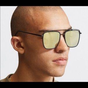 0a8cf1a535 QUAY Mr. Black 57mm Aviator Sunglasses